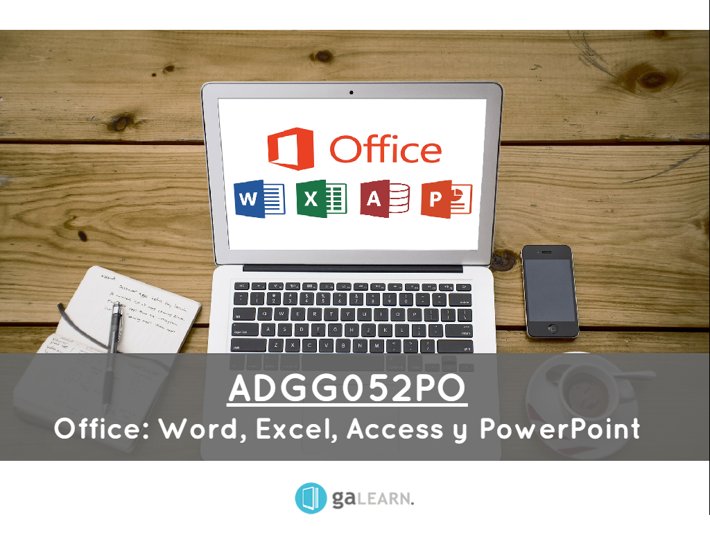 Office: Word, Excel, Access y Power Point.